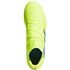 Buty piłkarskie adidas Nemeziz 18.2 Fg M BB9431 żółte żółte 2