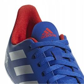 Buty piłkarskie adidas Predator 19.4 FxG Jr CM8540 niebieskie wielokolorowe 6