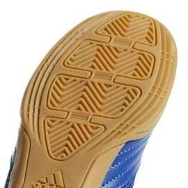 Buty halowe adidas Predator 19.4 In Sala Jr CM8551 niebieskie niebieski 6