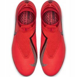 Buty piłkarskie Nike Phantom Vsn Elite Df Fg M AO3262-600 czerwone czerwone 1