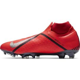 Buty piłkarskie Nike Phantom Vsn Elite Df Fg M AO3262-600 czerwone czerwone 2