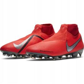 Buty piłkarskie Nike Phantom Vsn Elite Df Fg M AO3262-600 czerwone czerwone 3