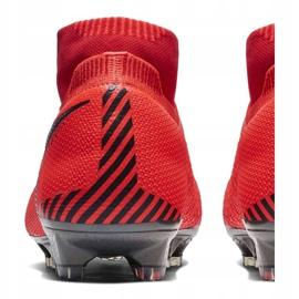 Buty piłkarskie Nike Phantom Vsn Elite Df Fg M AO3262-600 czerwone czerwone 4