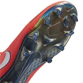 Buty piłkarskie Nike Phantom Vsn Elite Df Fg M AO3262-600 czerwone czerwone 5