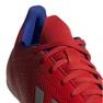 Buty halowe adidas X 18.4 In M BB9406 czerwone czerwony 3