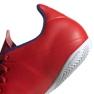 Buty halowe adidas X 18.4 In M BB9406 czerwone czerwony 4