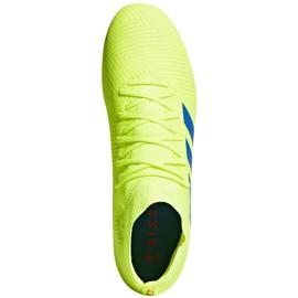 Buty piłkarskie adidas Nemeziz 18.3 Fg M BB9438 żółte wielokolorowe 1