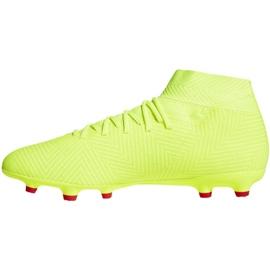 Buty piłkarskie adidas Nemeziz 18.3 Fg M BB9438 żółte wielokolorowe 2