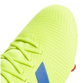 Buty piłkarskie adidas Nemeziz 18.3 Fg M BB9438 żółte wielokolorowe 4