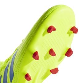 Buty piłkarskie adidas Nemeziz 18.3 Fg M BB9438 żółte wielokolorowe 5