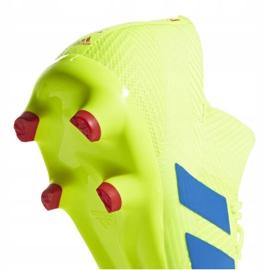 Buty piłkarskie adidas Nemeziz 18.3 Fg M BB9438 żółte wielokolorowe 6