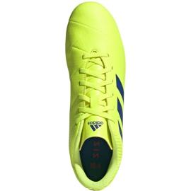 Buty piłkarskie adidas Nemeziz 18.4 FxG M BB9440 żółte żółte 1