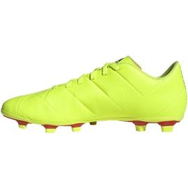 Buty piłkarskie adidas Nemeziz 18.4 FxG M BB9440 żółte żółte 2
