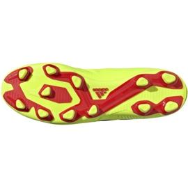 Buty piłkarskie adidas Nemeziz 18.4 FxG M BB9440 żółte żółte 3