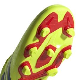 Buty piłkarskie adidas Nemeziz 18.4 FxG M BB9440 żółte żółte 5