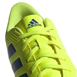 Buty piłkarskie adidas Nemeziz 18.4 FxG M BB9440 żółte żółte 6