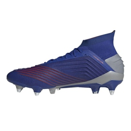 Buty piłkarskie adidas Predator 19.1 Sg M BC0312 niebieskie niebieskie 1