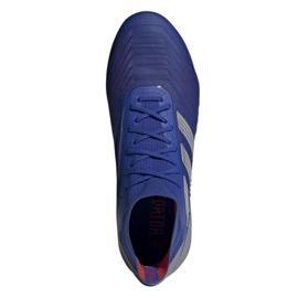 Buty piłkarskie adidas Predator 19.1 Sg M BC0312 niebieskie niebieskie 2