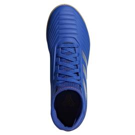 Buty halowe adidas Predator 19.3 In Jr CM8543 niebieskie czarny, niebieski 1