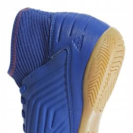 Buty halowe adidas Predator 19.3 In Jr CM8543 niebieskie czarny, niebieski 2