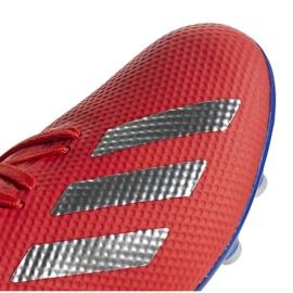 Buty piłkarskie adidas X 18.3 Ag M BC0299 czerwone wielokolorowe 3
