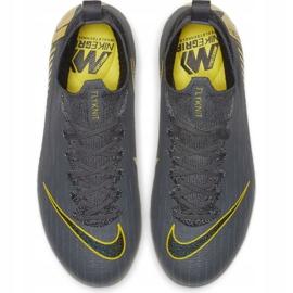 Buty piłkarskie Nike Mercurial Superfly 6 Elite Fg Jr AH7340-070 czarne szare 1