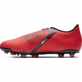 Buty piłkarskie Nike Phantom Venom Academy Fg Jr AO0362-600 czerwone wielokolorowe 1