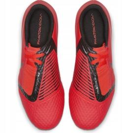Buty piłkarskie Nike Phantom Venom Academy Fg Jr AO0362-600 czerwone wielokolorowe 2