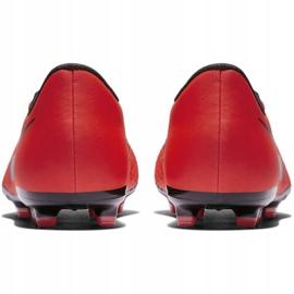 Buty piłkarskie Nike Phantom Venom Academy Fg Jr AO0362-600 czerwone wielokolorowe 6