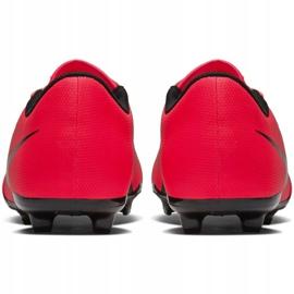 Buty piłkarskie Nike Phantom Venom Club Fg Jr AO0396-600 czerwone wielokolorowe 12