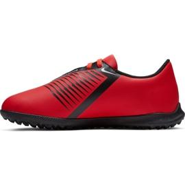 Buty piłkarskie Nike Phantom Venom Club Tf Jr AO0400-600 czerwone wielokolorowe 1