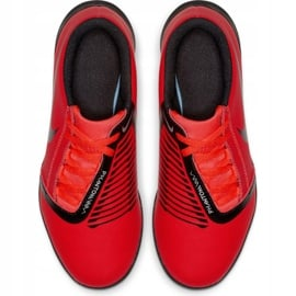 Buty piłkarskie Nike Phantom Venom Club Tf Jr AO0400-600 czerwone wielokolorowe 2