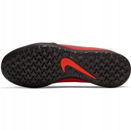 Buty piłkarskie Nike Phantom Venom Club Tf Jr AO0400-600 czerwone wielokolorowe 3