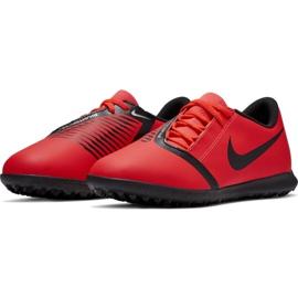 Buty piłkarskie Nike Phantom Venom Club Tf Jr AO0400-600 czerwone wielokolorowe 4