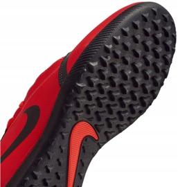 Buty piłkarskie Nike Phantom Venom Club Tf Jr AO0400-600 czerwone wielokolorowe 5
