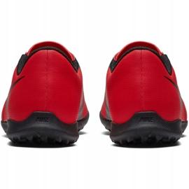 Buty piłkarskie Nike Phantom Venom Club Tf Jr AO0400-600 czerwone wielokolorowe 6