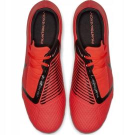 Buty piłkarskie Nike Phantom Venom Academy Fg M AO0566-600 czerwone wielokolorowe 2