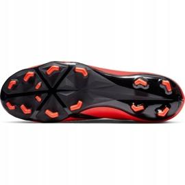 Buty piłkarskie Nike Phantom Venom Academy Fg M AO0566-600 czerwone wielokolorowe 3