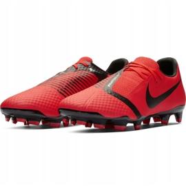 Buty piłkarskie Nike Phantom Venom Academy Fg M AO0566-600 czerwone wielokolorowe 4