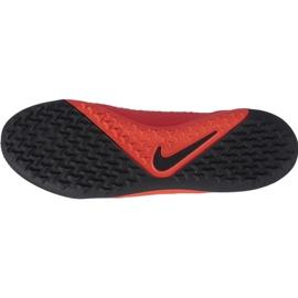 Buty piłkarskie Nike Phantom Vsn Academy Tf M AO3223-600 czerwone wielokolorowe 1