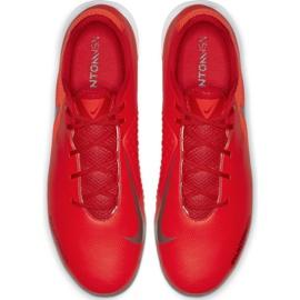 Buty halowe Nike Phantom Vsn Academy Ic M AO3225-600 czerwone czerwone 1