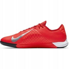 Buty halowe Nike Phantom Vsn Academy Ic M AO3225-600 czerwone czerwone 2