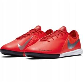 Buty halowe Nike Phantom Vsn Academy Ic M AO3225-600 czerwone czerwone 3