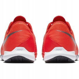 Buty halowe Nike Phantom Vsn Academy Ic M AO3225-600 czerwone czerwone 4