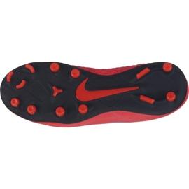 Buty piłkarskie Nike Phantom Vsn Club Df Fg Mg Jr AO3288-600 czerwone wielokolorowe 1