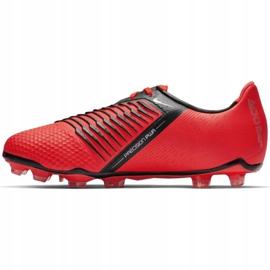Buty piłkarskie Nike Phantom Venom Elite Fg Jr AO0401-600 czerwone wielokolorowe 1