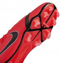 Buty piłkarskie Nike Phantom Venom Elite Fg Jr AO0401-600 czerwone wielokolorowe 4