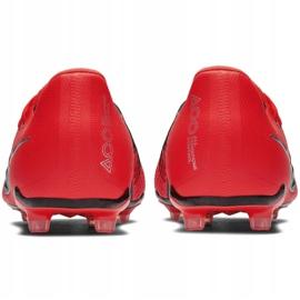 Buty piłkarskie Nike Phantom Venom Elite Fg Jr AO0401-600 czerwone wielokolorowe 6