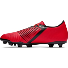 Buty piłkarskie Nike Phantom Venom Club Fg M AO0577-600 czerwone czerwone 1