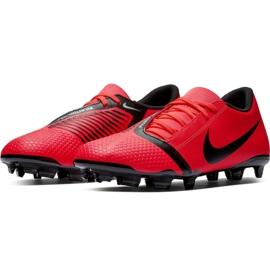 Buty piłkarskie Nike Phantom Venom Club Fg M AO0577-600 czerwone czerwone 5